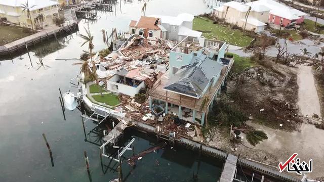روایت پدری که برای نجات فرزندش از طوفان دوریان او را روی بام خانه گذاشت
