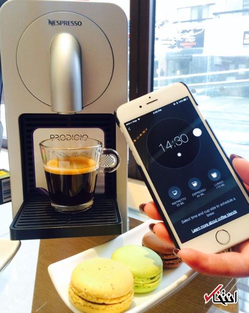 پیشنهادی ویژه برای علاقه مندان به قهوه / از راه دور با یک اپلیکیشن قهوه دلخواهتان را آماده کنید