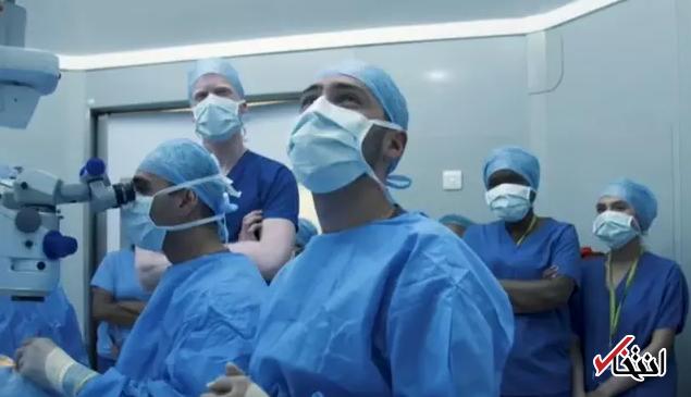 انقلابی جدید در دنیای پزشکی / بازیابی بینایی یک قربانی اسیدپاشی پس از 24 سال با کمک سلولهای بنیادی