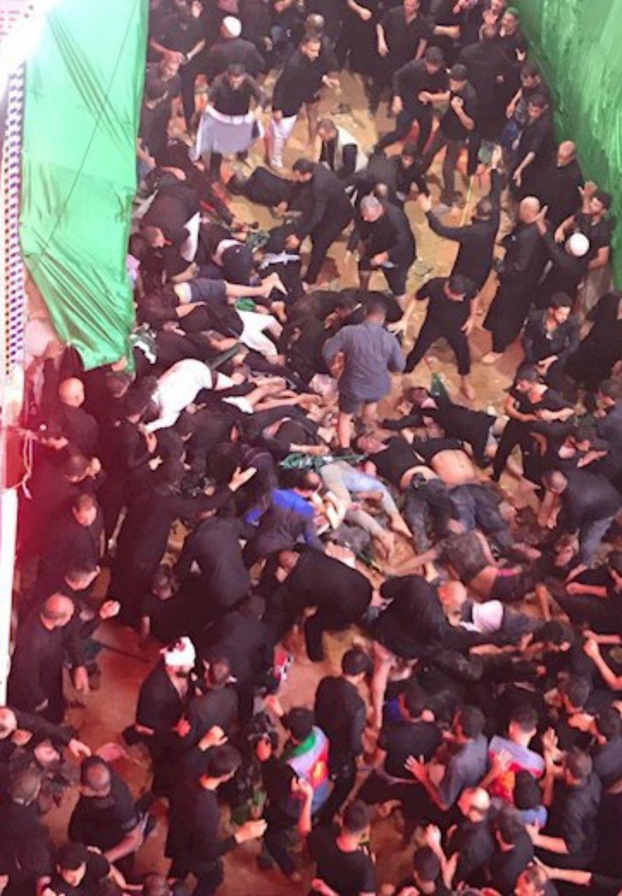 ۱۷ کشته و ۷۰ زخمی در ازدحام جمعیت در کربلا +عکس