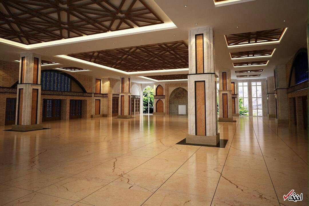 تصاویر: اینجا هتل ٧ ستاره نیست، حوزه علمیه لاکچری آیت الله آملی لاریجانی است که منابع مالی آن نامشخص است!