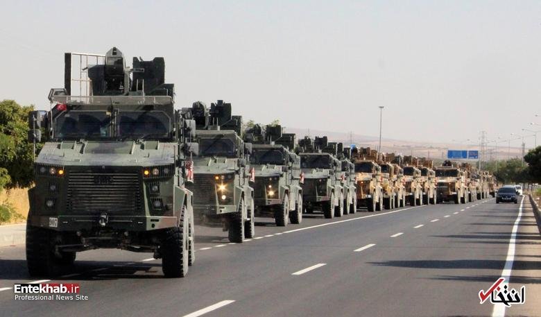 تصاویر: حمله ارتش ترکیه به مناطق کُردنشین شمال سوریه