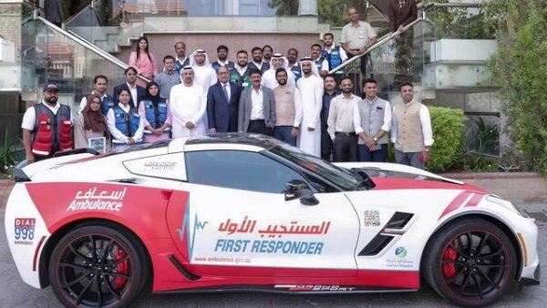 آمبولانسهای لاکچری در دوبی