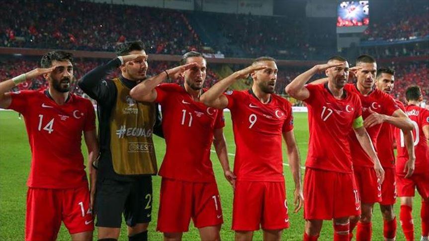 جریمه سنگین در انتظار فدراسیون ترکیه بعد از شادی گل جنجالی بازیکنانش مقابل آلبانی