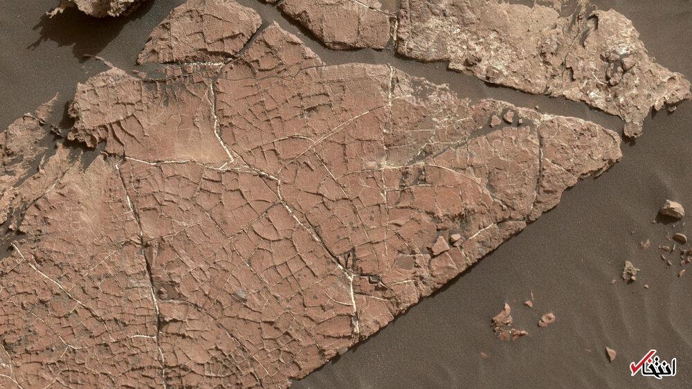 پیدا شدن نشانههای باستانی در مریخ