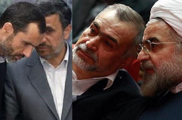 سکوت روحانی و داد و بیداد احمدی نژاد
