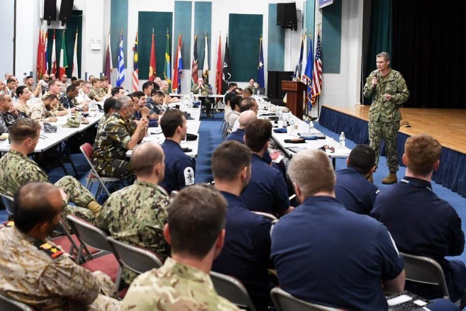 رزمایش دریایی آمریکا با مشارکت ۵۰ کشور در خلیج فارس آغاز شد