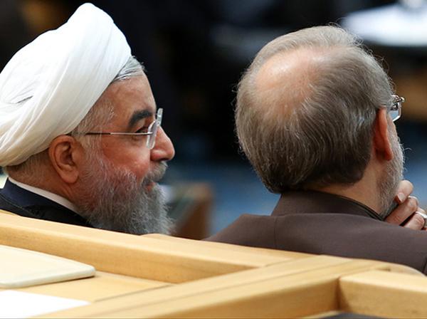 استیضاح رئیس جمهور در ۵ محور در مجلس کلید خورد / تقاضای تعدادی از نمایندگان برای استیضاح لاریجانی