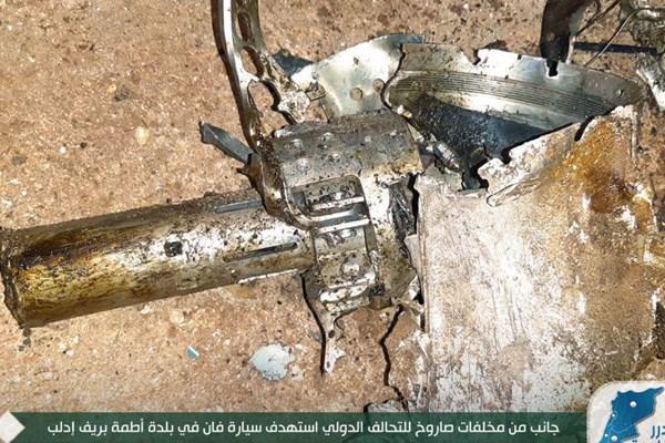 سایت آمریکایی: ارتش آمریکا موشک محرمانه «نینجا» را مجددا در سوریه آزمایش کرد / خودروی هدف قرار داده شده تقریبا از وسط به دو نیم شد / دو سرنشین خودرو به صورت کامل خرد و تکهتکه شدند