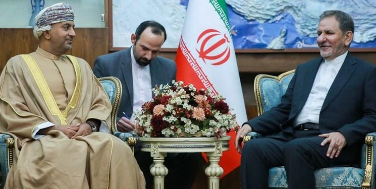 جهانگیری: روابط سیاسی ایران (IRAN) و عمان در عالیترین سطح قرار دارد
