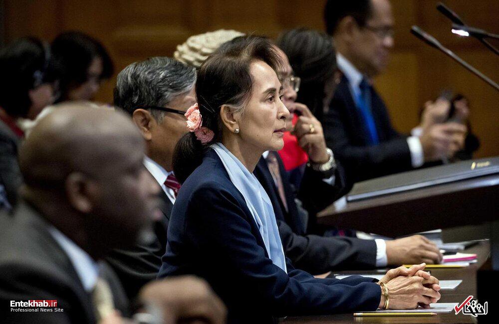 تصاویر : دادگاه رسیدگی به جنایات میانمار علیه مسلمانان