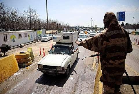 تصاویر: اجرای طرح فاصله گذاری اجتماعی در جاده های خراسان رضوی
