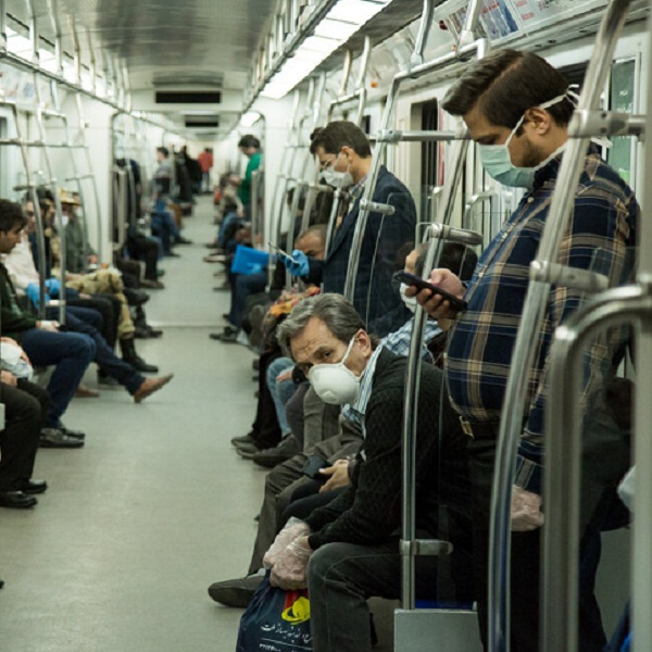 تصاویر: مترو تهران در روزهای کرونایی پس از نوروز