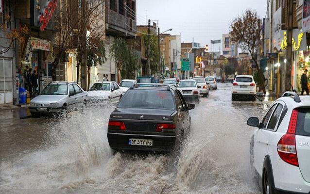 هشدار زرد سازمان هواشناسی درخصوص وقوعرگبار ، رعد و برق و باد شدید در شش استان