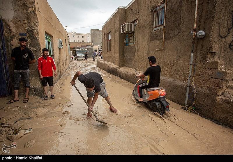 تصاویر: خسارات سیل در بندر کنگان - بوشهر