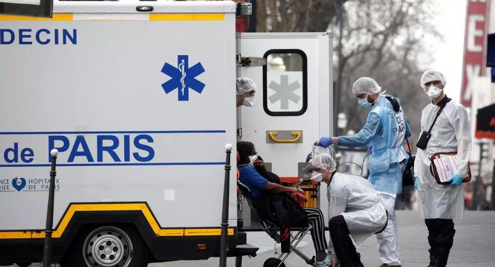 تعداد جانباختگان کرونا در فرانسه به ۱۳۳۱ نفر افزایش یافت