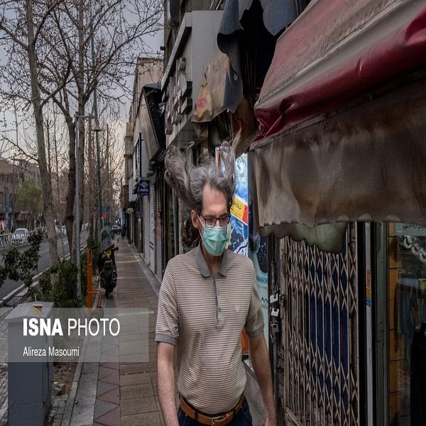 تصاویر: بارش باران در تهران