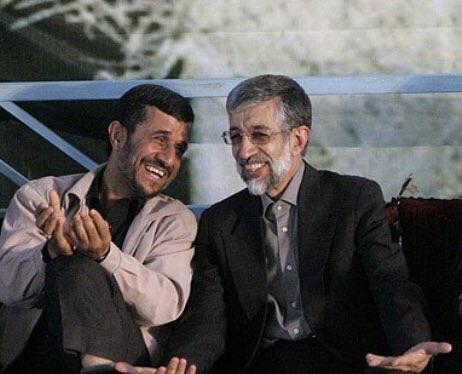 واکنش تند احمدی نژاد به اظهارات حداد: او همیشه علیه من بوده / قبل از انقلاب دست فرح را میبوسیدند، بعد از انقلاب سوپر حزباللهی شدند / همسر شهید فاطیم عکس دستبوسی او را نشانش داد، بازداشتش کردند