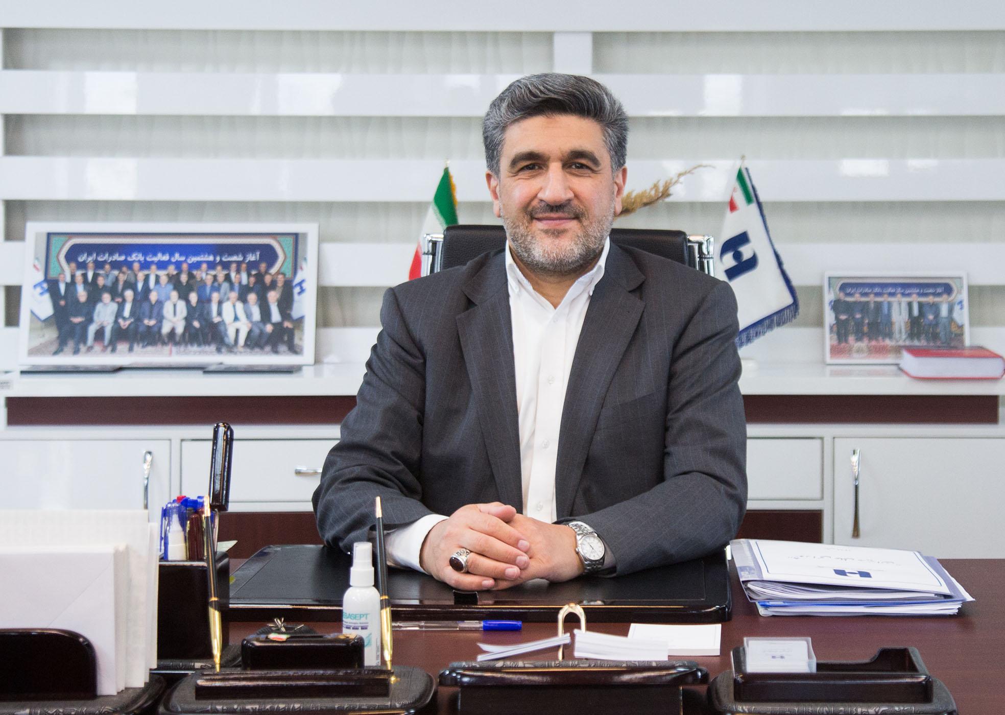 حجتاله صیدی:مانعي براي تحقق سود در بانک صادرات ایران نميبينم/ ٩ هزار ميليارد تومان تسهيلات ويژه كرونا تخصیص میدهیم