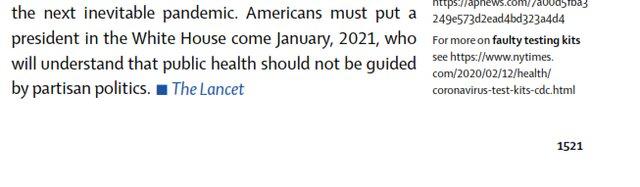 توصیه مجله معتبر پزشکی: به ترامپ رأی ندهید