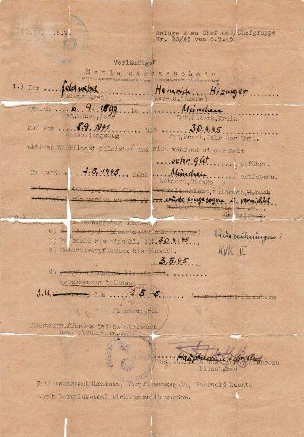هفتاد و پنج سال پس از خودکشی، راز دستگیری هاینریش هیملر فاش شد