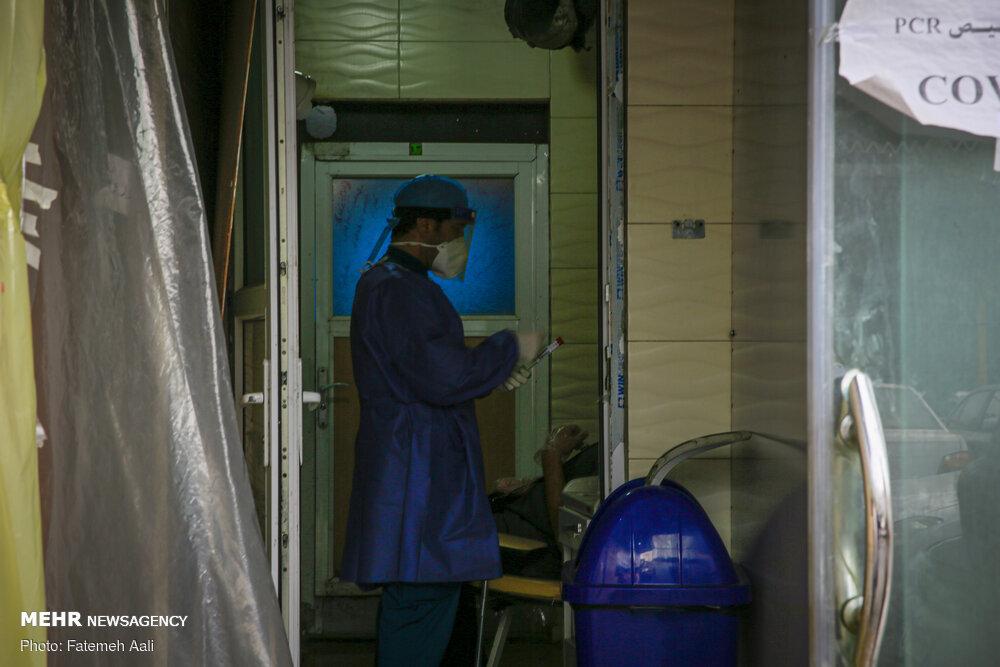 تصاویر: تست PCR در بیمارستان بقیه الله