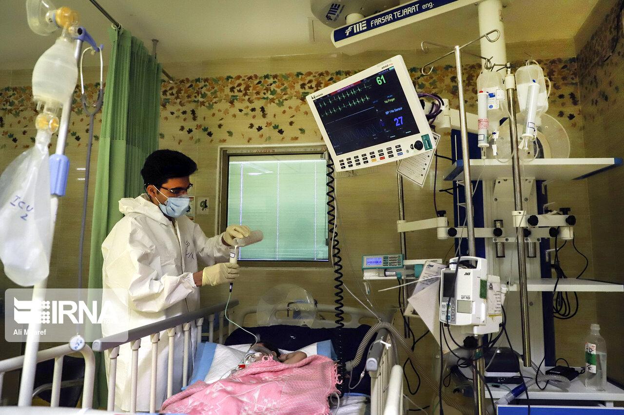 تصاویر: بخش کودکان مبتلا به کرونا در بیمارستان ابوذر اهواز