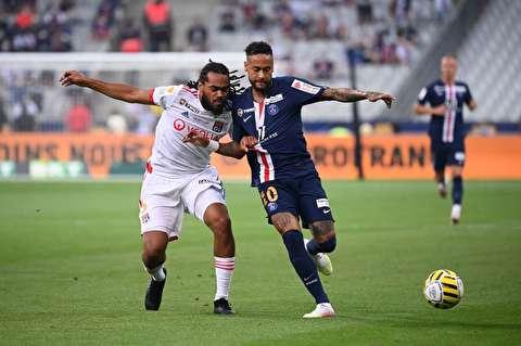 دومین فینال فوتبالی فرانسه با «حضور محدود تماشاگران» در شرایط کرونا / پاریسنژرمن در حضور ۳ هزار تماشاگر قهرمان جام اتحادیه شد
