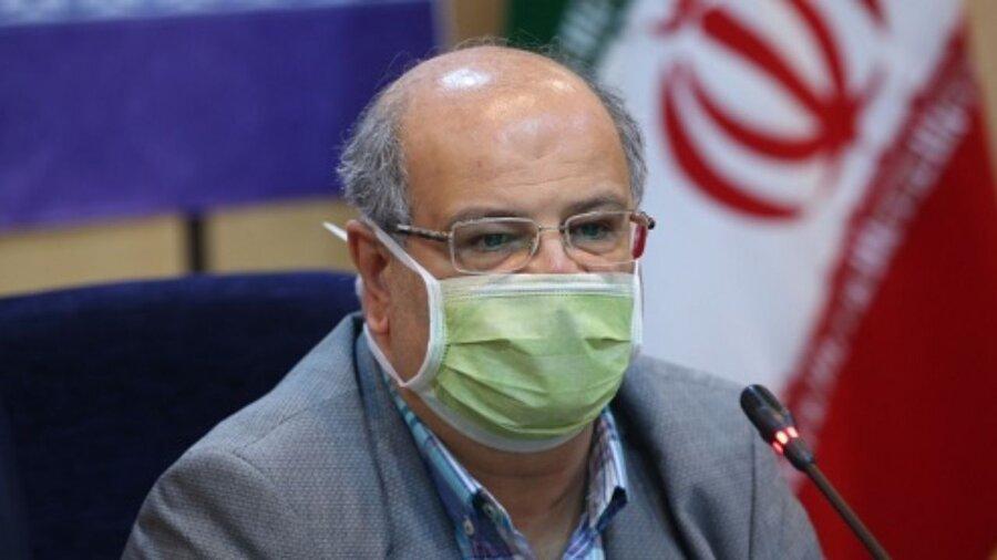 زالی: کاهش فوتیهای کرونا در تهران / پیشنهاد تمدید محدودیتها / خطر سفر در تعطیلات پیشرو