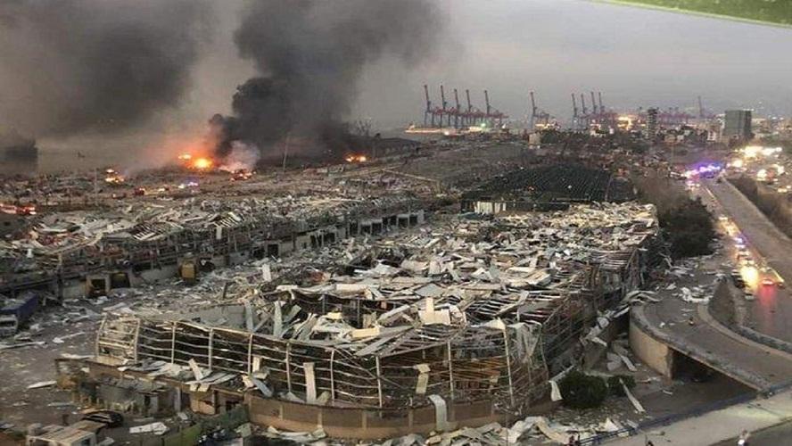 ۱۹ فرد مظنون به دست داشتن در انفجار بیروت، بازداشت شدند