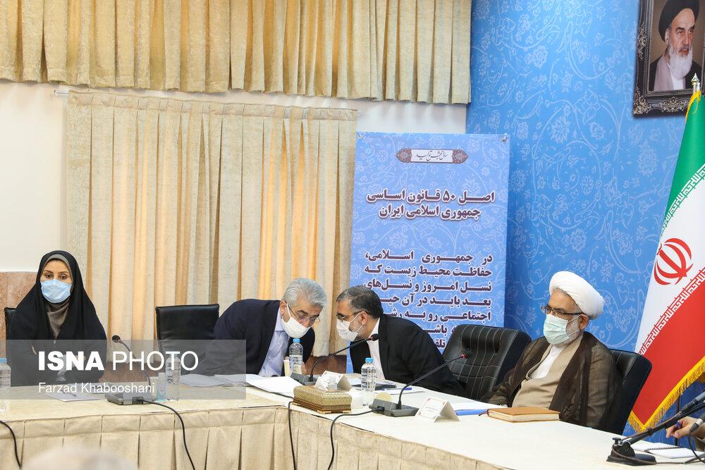 تصاویر: جلسه شورای عالی حفظ حقوق بیتالمال با حضور رئیس قوه قضاییه