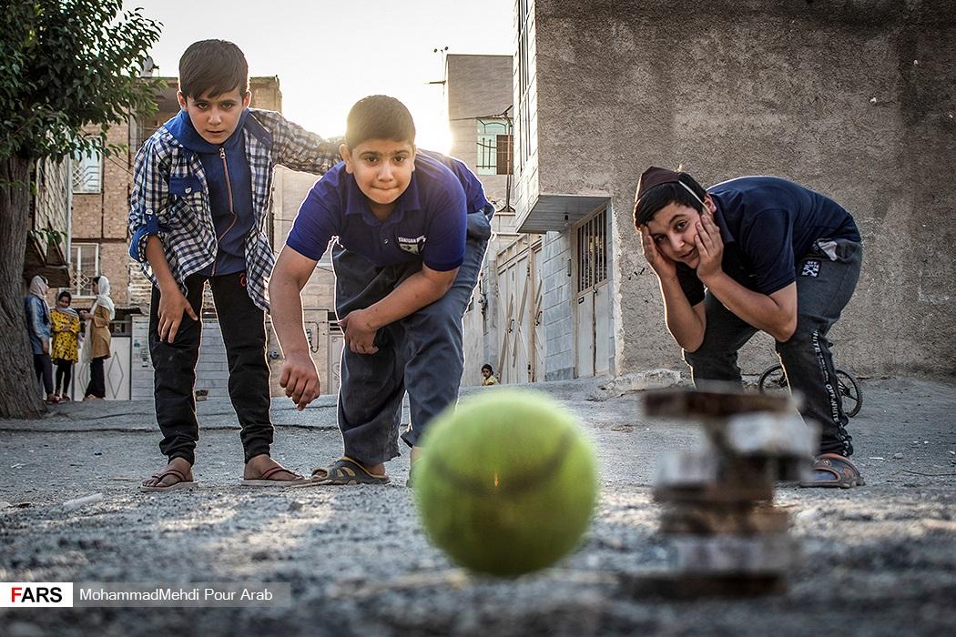 تصاویر: تابستان کودکانه با کرونا