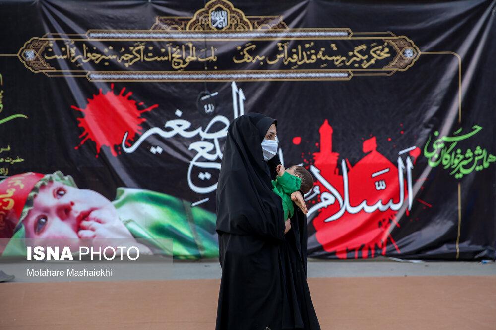 تصاویر: همایش شیرخوارگان حسینی در اراک