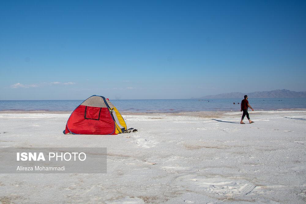 تصاویر: این روزهای دریاچه ارومیه
