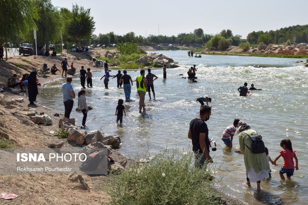تصاویر: آخر هفتههای کرونایی در پارک جنگلی «ناژوان» اصفهان