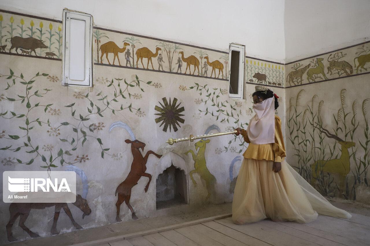تصاویر: زینب 7 ساله ، ملکه قلعه باستانی شوش