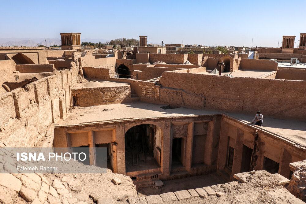 پیدا شدن خانه تاریخی وحشی بافقی