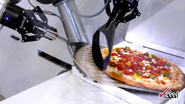 استقبال از رباتهای پیتزاپز در دوران تمام گیری کرونا+تصاویر