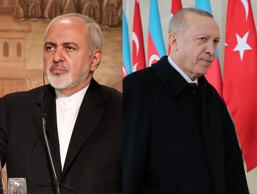واکنش ظریف به اظهارات اردوغان در باکو: هیچکس نمیتواند درباره آذربایجان عزیز ما صحبت کند / آیا اردوغان نفهمید که علیه استقلال جمهوری آذربایجان سخن گفته است؟ / به او نگفته بودند شعری خواند مربوط به جدایی قهری مناطق شمالی ارس از سرزمین مادریشان ایران است!
