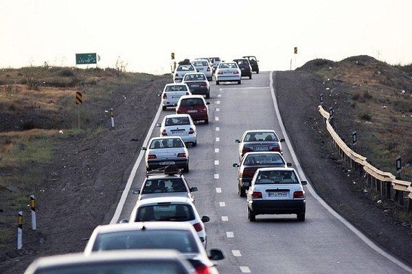 وضعیت جادهها و راهها، امروز 16 اردیبهشت 1400 / ترافیک نیمه سنگین در آزادراه قزوین-کرج