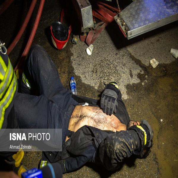 تصاویر: انفجار و آتش سوزی کارگاه شارژ سلیندرهای گاز مایع - قم