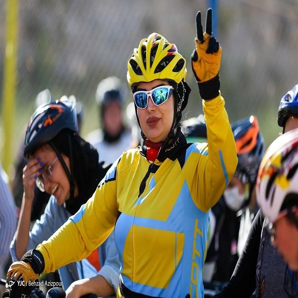 تصاویر: مسابقه دوچرخه سواری بانوان - تبریز