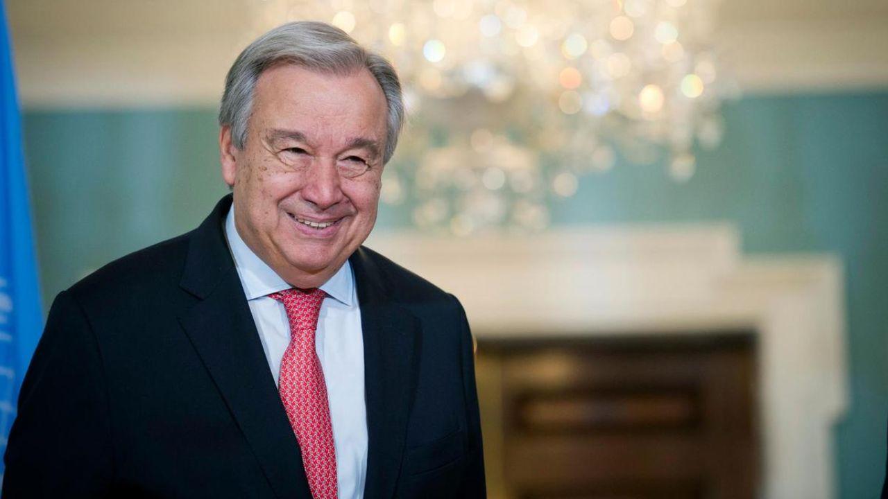 گوترش برای یک دوره پنج ساله دیگر به عنوان دبیرکل سازمان ملل انتخاب شد