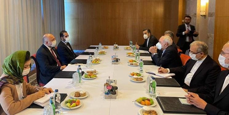 دیدار ظریف و اتمر در آنتالیا؛ آمادگی ایران برای مشارکت موثر در تحکیم ثبات در افغانستان