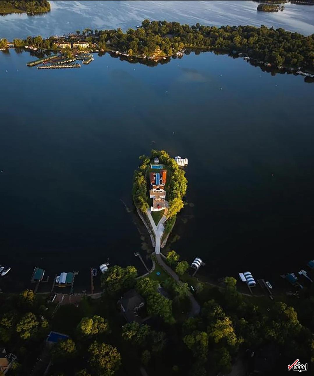 جزیره خصوصی15 میلیون دلاری با امکانات ویژه+تصاویر