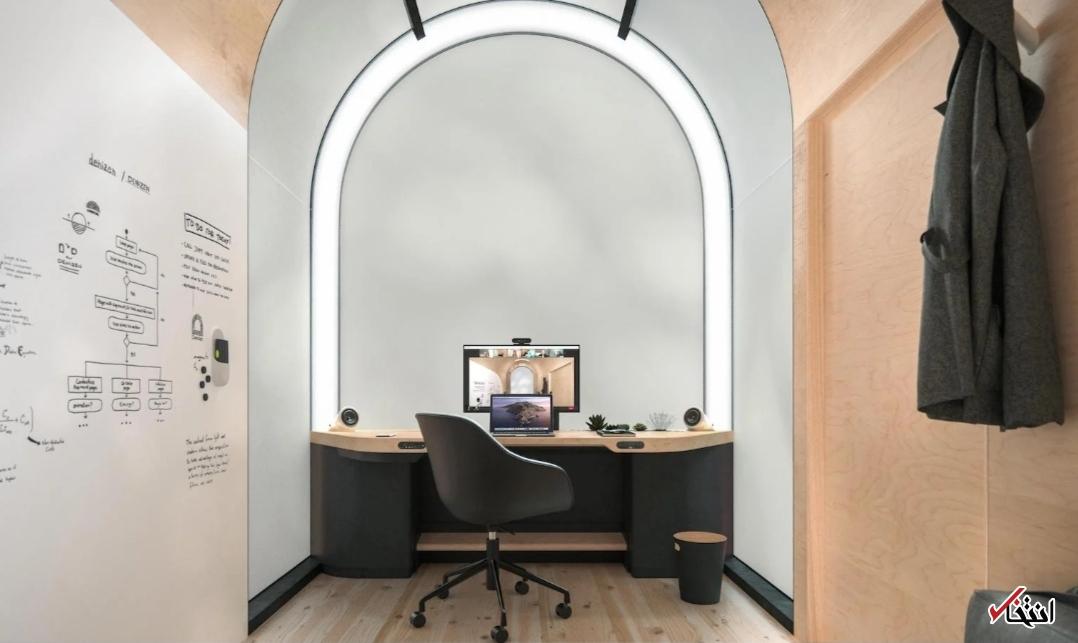 دفتر کار هوشمند و قابل حمل+تصاویر