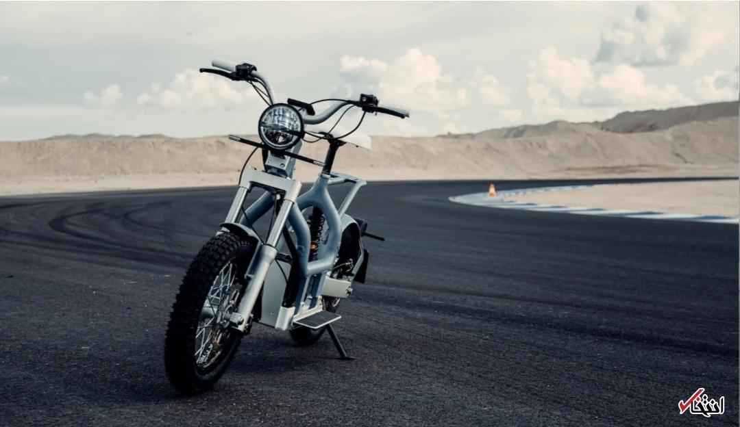 موتورسیکلت الکتریکی سونی+ تصاویر