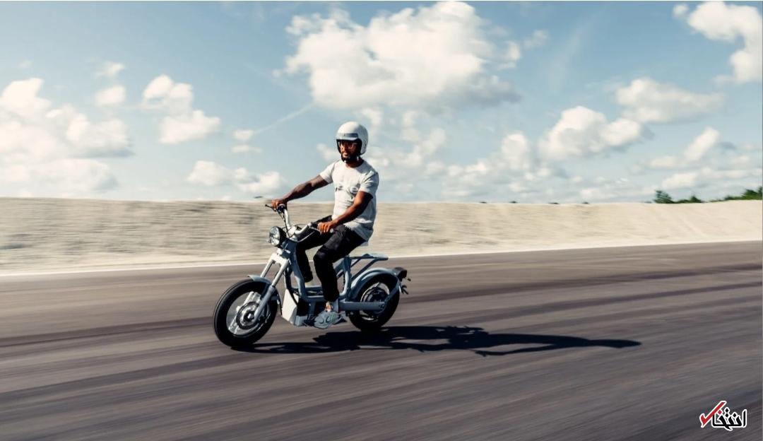 موتورسیکلت الکتریکی سونی