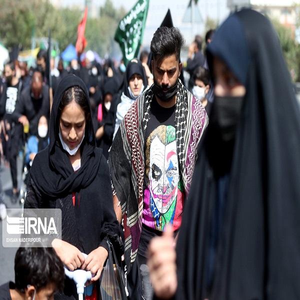 تصاویر: مراسم پیاده روی جاماندگان اربعین در تهران